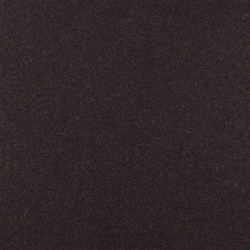 Wool felt dark brown melange