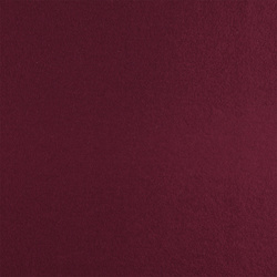 Wool felt dark red melange