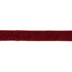 Tube knit 15mm dark red 1m