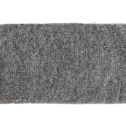 Tube knit 60mm grey mixture 1m