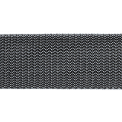 Webbing ribbon nylon 38mm grey 5m