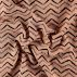 Knit jacquard light powder uneven zigzag