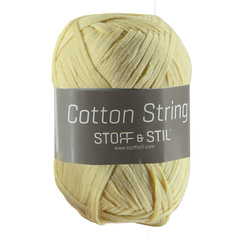 Cotton String ljusgul
