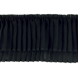 Pleat 8x150cm black 1pcs