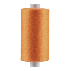 Sewing thread dark orange 1000m