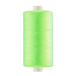 Sewing thread neon green 1000m