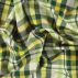 Yarn dyed yellow check