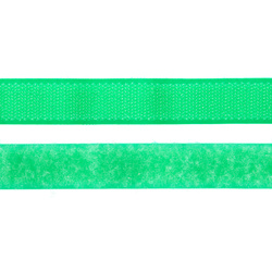 Hook and Loop tape 20mm neon green 50cm