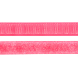 Hook and Loop tape 20mm neon pink 50cm