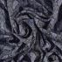 Woven viscose navy with snake print