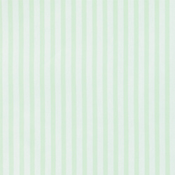 Non-woven oilcloth mint/white stripes