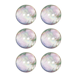 Button mother of pearl 23mm 6 pcs