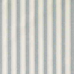 Yarn dyed light blue wide stripe