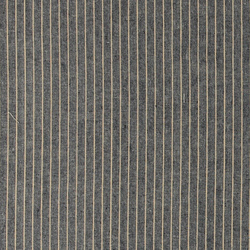 Woven linen navy with nature stripe