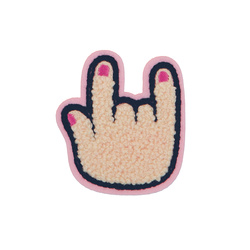 Patch hand 55x61mm powder 1pcs