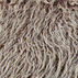 Fake long haired fur stone/nature 18mm