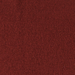 Wool felt dark rouge melange