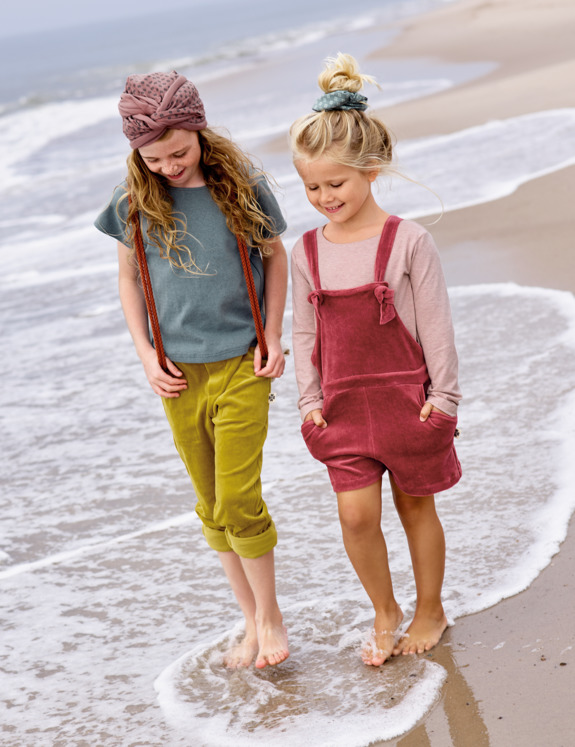 Organic summerclothing for girls