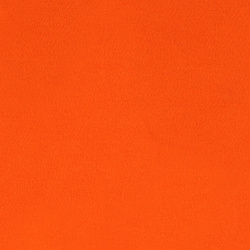 French terry warm orange brushed