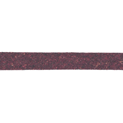 Bias tape wool/polyester 18mm winered 3m