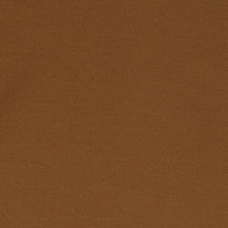 Heavy jersey twill dark golden brown