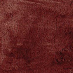 Fake fur dark rouge - 5 mm