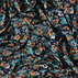 Viscose stretch jersey blue with flowers