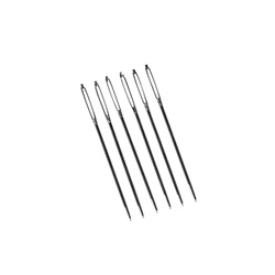 Tapestry needle not pointed size18, 6pcs