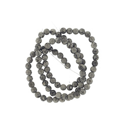 Bead jaspis 4mm light grey 90 pcs