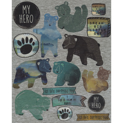Heat transfer My Hero 24x29cm 1 sheet