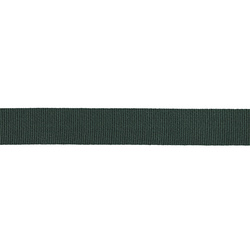 Ribbon woven 38mm dark green 3m