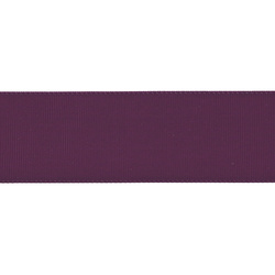 Gros grain ribbon 38mm lt. aubergine 5m