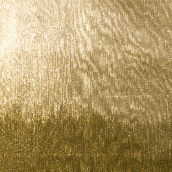 Knit polyester w gold foil