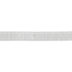 Elastic 10mm white 5m