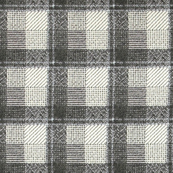 Woven crepe nature with check