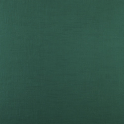 Coarse linen/viscose dark jade