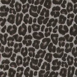 Jacquard grey w black/brown leo pattern