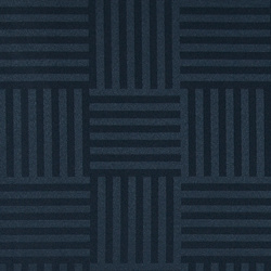 Jacquard navy blue graphic pattern