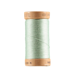 Sewing thread organic cotton mint 100m