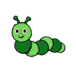 Patch caterpillar 39x30mn green 1pc
