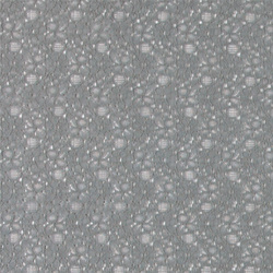Lace solid dusty grey with flowers