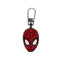 Zipper-pendant SPIDERMAN 22x25mm 1pc