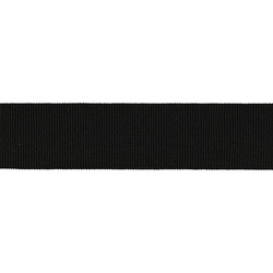 Elastic 38mm black 2m