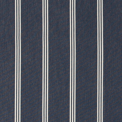 Dralon navy w white stripe Teflon coated