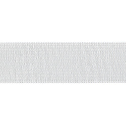 Elastic 25mm white 50m