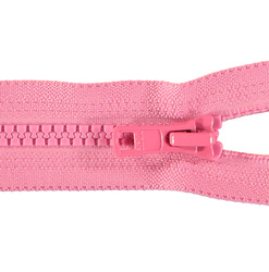 YKK zip 6mm open end pink