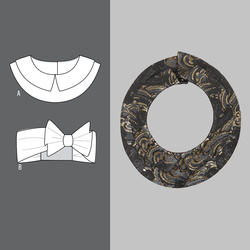 Decorative collar and hairband