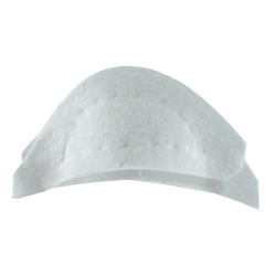Shoulderpad white narrow
