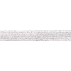 Elastic 10mm white 10m