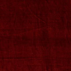 Shiny stretch velour dark red